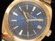 Overseas Automatic RG Blue Dial