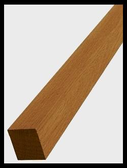 Деревянные балясины и столбы из различных пород дерева в