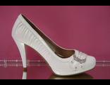 Распродажа свадебные туфли шампань айвори кремовые лаковые скрытоя платформа украшены стразами фото