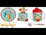 Набор детской посуды 4 предмета Ebulobo Волшебный цирк