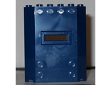 Panel 2 x 6 x 6 with Window Slot, Dark Blue (22387 / 6129375)