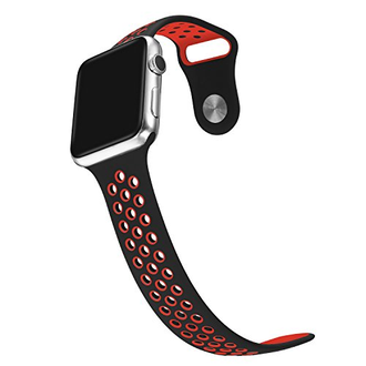 Apple Watch Series 3, 38mm Nike + Black/Red