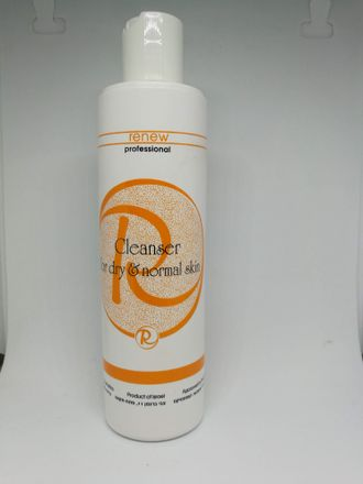Renew Cleanser for dry &normal skin