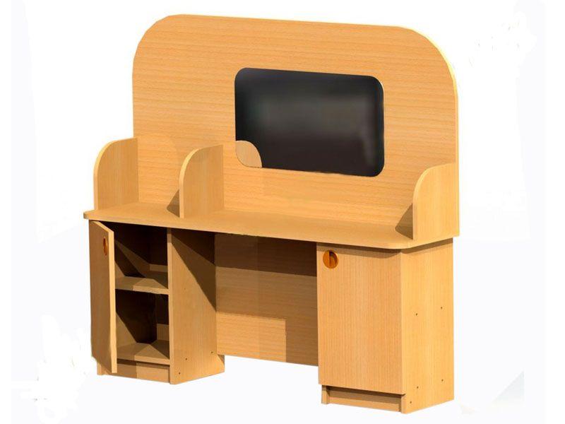 Детская игровая мебель и уголки - уголок логопеда.
