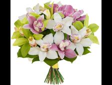 Букет из орхидей Поцелуй