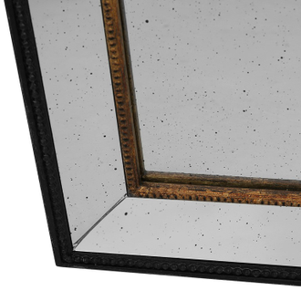 Зеркало матовое античное MIRROR ANTIQUE BRONZE 60X80 MDF+PAULOWNIA WOOD+GLA 30029