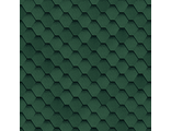 ШИНГЛАС КАДРИЛЬ соната (зеленый бленд) 3м2