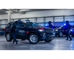Police armored Jeep Grand Cherokee 3.0L V6 Turbodiesel 4WD in CEN B4K, 2020YP