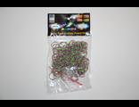 Резиночки фиолетово-зеленые