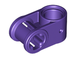 Technic, Axle and Pin Connector Perpendicular, Dark Purple (6536 / 6170281)