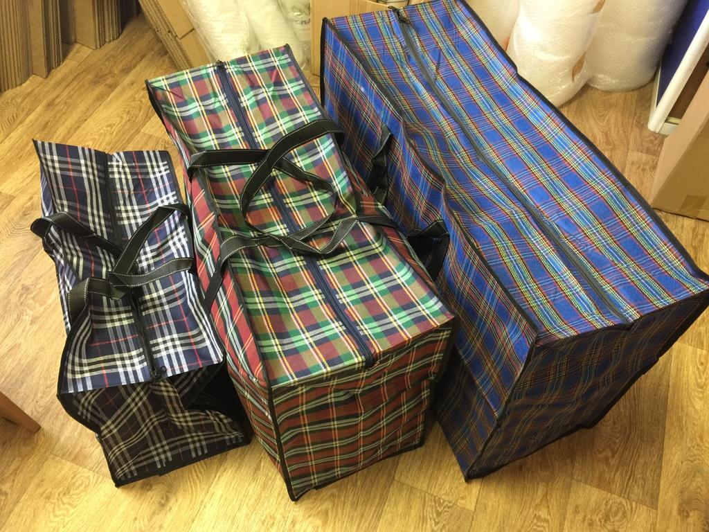 7aa9c9fc66d4 Сумки клетчатые (баул) - Набор из 3х сумок. Купить у нас в магазине ...