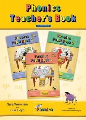 Jolly Phonics Teacher's Book (color edition) in Print Letters