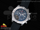 Avenger II Seawolf Chronograph Titanium Case Gray Dial on Black Nylon Strap