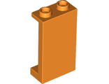 Panel 1 x 2 x 3 with Side Supports - Hollow Studs, Orange (87544 / 6129594)