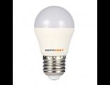 Світлодіодна LED лампа ЕХ E27, A60 - 7W 4000K, 665Lm