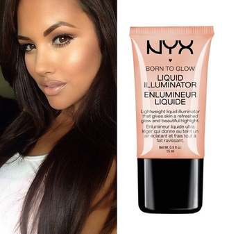 ХАЙЛАЙТЕР NYX Born To Glow Liquid Illuminator GLEAM 02