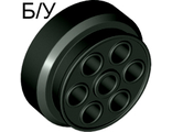 ! Б/У - Wheel 30mm D. x 13mm (13 x 24 Model Team), Black (2695) - Б/У