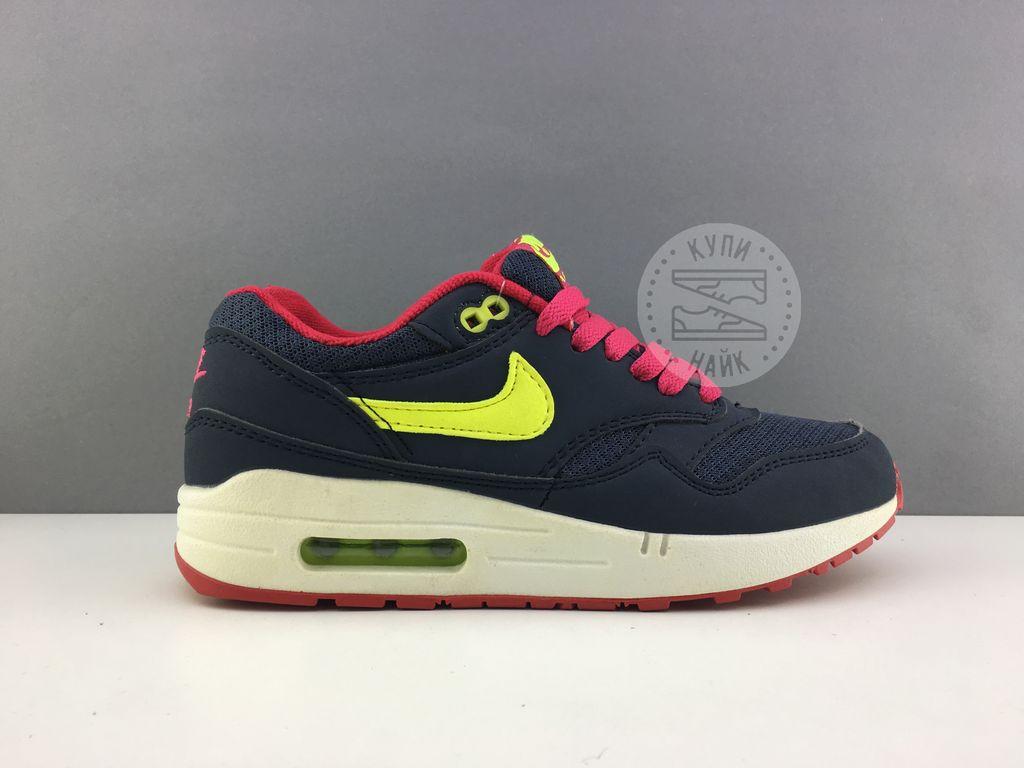 7a52cb05 Купить женские кроссовки nike air max 87 синие с розовым, купить ...