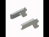 Кронштейн для полки ЛДСП пр/лев(комплект) (серый)