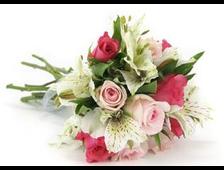 Букет роз с Лилиями