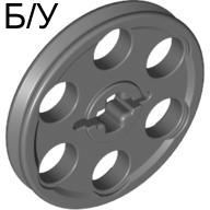 ! Б/У - Technic Wedge Belt Wheel  Pulley , Dark Bluish Gray (4185 / 4587275 / 6321744) - Б/У