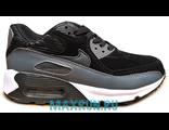 Кроссовки Nike Air Max 90 черно-серые