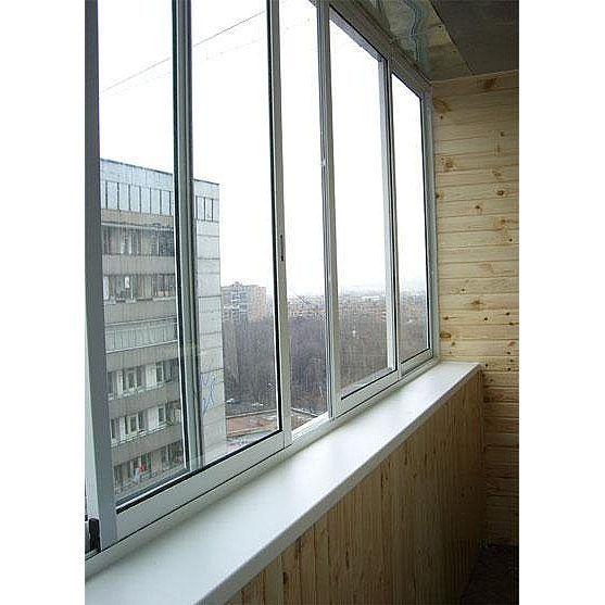 Балконные рамы из алюминия, цена 410 руб., купить в минске -.