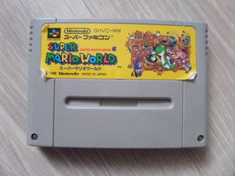 Super Mario World Super Famicom SNES Super Famicom