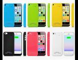 Чехол-аккумулятор для iPhone 5C зеленый