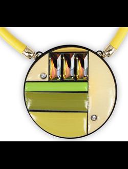 Ожерелье N16yellow