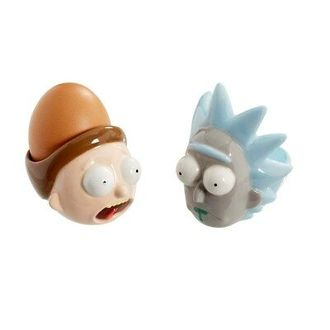 Подставки под яйцо Funko Rick & Morty: Egg Cup Set: Rick & Morty