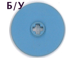 ! Б/У - Technic, Disk 3 x 3, Medium Blue (2958) - Б/У