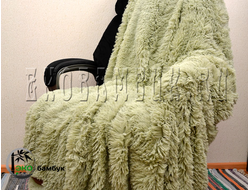 Плед из бамбука экстра-класса Фисташка 160х210