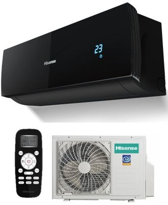 Сплит-система Hisense AS-11UR4SYDDEIB1 серии BLACK STAR DC INVERTER