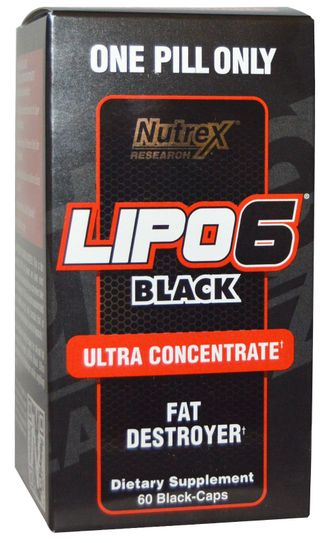 Nutrex Lipo-6 Black Ultra Concentrate, 60 капсул