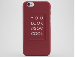Стильный чехол You look so cool для iPhone 6 Plus/6S Plus