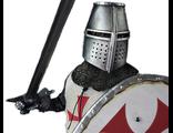 Рыцарь-тамплиер - Коллекционная фигурка 1/6 Series of Empires - Knight Templar (SE005) - COOMODEL