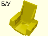 ! Б/У - Technic Seat 3 x 2 Base, Yellow (2717) - Б/У