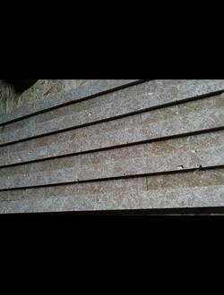 Облицовочный камень из травертина - полировка