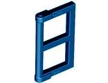 Pane for Window 1 x 2 x 3 with Thick Corner Tabs, Dark Blue (60608 / 6188119 / 6217640)