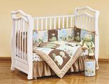 Комплект в кроватку для новорожденных shapito by giovanni FROGGY FRIENDS