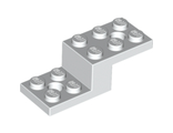 Bracket 5 x 2 x 1 1/3 with 2 Holes, White (11215 / 6053026)