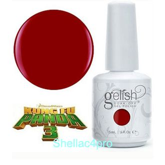 Gelish Harmony, цвет № 01017 Tigress Knows Best - Kung Fu Panda 3 Collection 2016