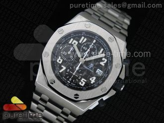 Royal Oak Offshore Ultimate Edition Black Dial on Bracelet