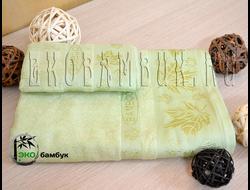 Бамбуковое полотенце спорт класс 48х98 Фисташковый Клен
