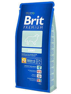 BRIT PREMIUM LIGHT / БРИТ ДЛЯ СОБАК ВСЕХ ПОРОД, СКЛОННЫХ К ПОЛНОТЕ НИЗКОКАЛОРИЙНЫЙ