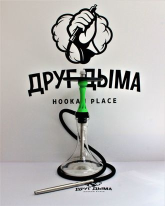 Кальян ALPHA HOOKAH-Model X (Зеленый)