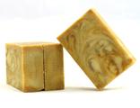 Мыло «Восточная сказка» с шелком, куркумой и глиной рассул (Мастерская Олеси Мустаевой)