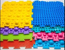 Ортопедические и развивающие коврики для детей, мягкий пол
