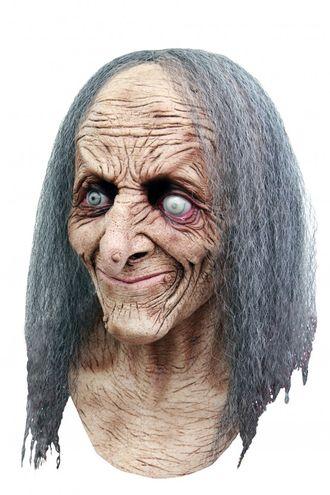 старая, ведьма, маска, масочка, ужасная, страшная, латексная, баба яга, резиновая, реалистичная